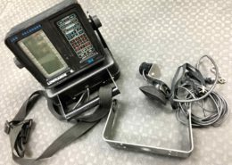 Lowrance X4 Portable LCG Recorder Fishfinder c/w Battery Pack - $25