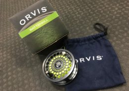 Orvis Battenkill IV Black Nickel Fly Reel c/w Backing - GREAT SHAPE! - $150