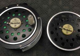 "Pflueger 1495 Medalist Fly Reel & Spare Spool 3.6"" - $50"