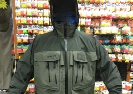 SOLD! - Simms G3 Jacket - Waterproof Windproof Breathable - Size Large - GREAT SHAPE!
