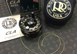 Ross CLA No. One - Black - c/w RIO DT2 Fly Line - LIKE NEW! - $100