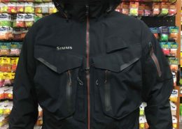 Simms G4 Goretex Wading Jacket - Black - Size Large - LIKE NEW! - $300