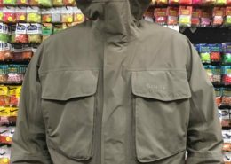 Simms Goretex Guide Jacket - Size Large - Tan - GREAT SHAPE! - $150
