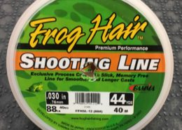 Frog Hair Shooting Line - 88lb - 44yards - $5