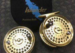 Islander IR2 Fly Reel - Gold - with Spare Spool - GREAT SHAPE! - $160