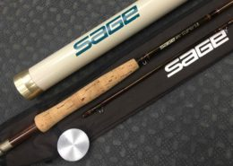 Sage RPL Plus 590 - Graphite III - 5wt - 2pc Fly Rod - GREAT SHAPE! - $160