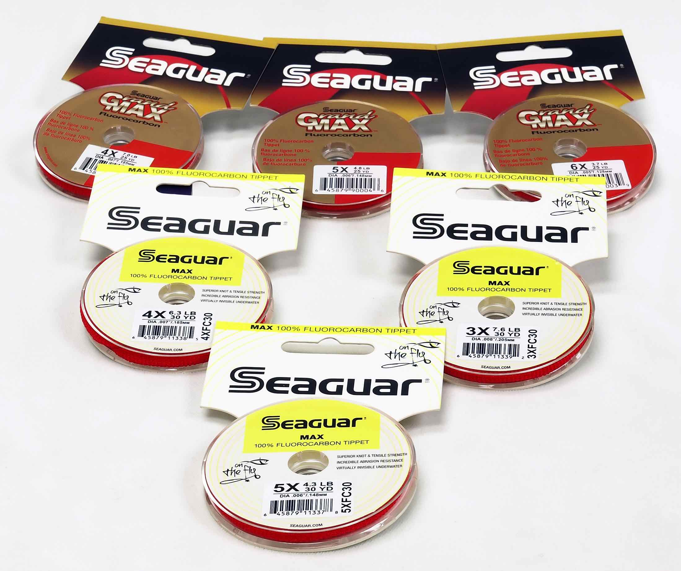 Seaguar Grand Max 30 yards Fluorocarbon Tippet
