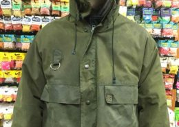 Hardy Vintage Wax Cotton Wading Jacket - Size Large - $50