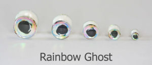 Just Add H20 Products Fish Fooling Fly Tying Material Non Light Weight 3D Rainbow Dumbell Eyes Assortment C