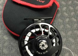 Nautilus Fly Reel - Black - FWX 5/6 c/w Backing - LIKE NEW! - $275