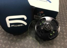 Ross CLA #5 - Black Fly Reel - C/W Backing - LIKE NEW! - $200