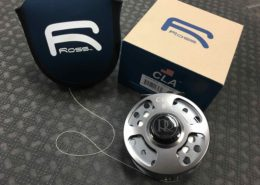 Ross CLA #6 - Grey Mist Fly Reel - C/W Backing - LIKE NEW! - $225