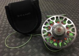 3-Tand TF-70 Fly Reel c/w A Scientific Anglers Textured 8wt Fly Line - LIKE NEW! - $225