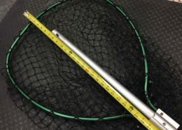 "Beckman Landing - Net 48"" Handle - 21"" x 24"" Hoop Size - GREAT SHAPE! - $40"