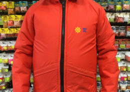 Bouy O Boy - Orange Life Floatation Survival Suit Jacket - Size Large - GREAT SHAPE! - $50