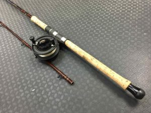 Fenwick Classic Salmon Moocher Fibreglass Downrigging Mooching Rod - SM1262 - 10 1/2' - 2pc ROD & A Mitchell 782 Mooching Reel