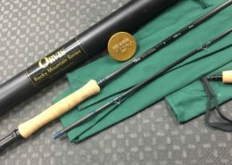 Orvis - Rocky Mountian Series - 9' 8wt - 3 3/4oz - 2 pc Fly Rod with Fighting Butt - GREAT SHAPE! - $50