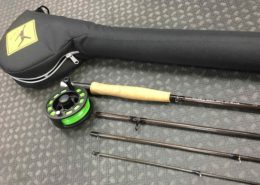 Echo Solo Fly Rod - 4pc - 6wt c/w Rod & Reel Tube