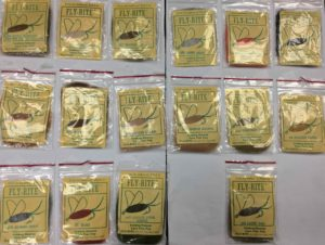 Fly Rite Extra Fine Poly Dubbing Material 16 piece Assortment - $20