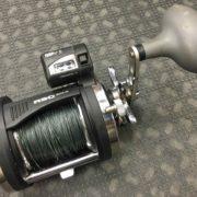 Rapala - RSC 30LG - Line Counter Downrigging Reel c/w Braid - $40