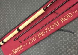 "Raven - IM6 13' 6"" - Centerpin Float Rod - LIKE NEW! - $125"
