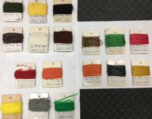 The Hackle House - 17 pc - Fly Tying Raffia & Wool Assortment - $10