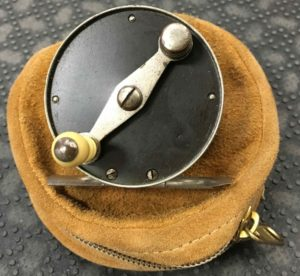 Vintage 1920's Montague Hard Rubber Trout Fly Reel - $125