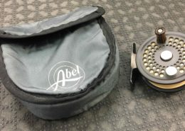 Abel No. 0 Fly Reel - c/w RIO Fly Line - LIKE NEW! - $200