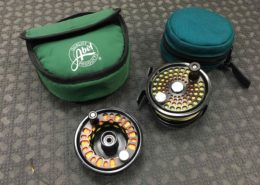 Abel No. 1 Fly Reel - c/w Spare Spool and TWO RIO Fly Lines - LIKE NEW! - $400