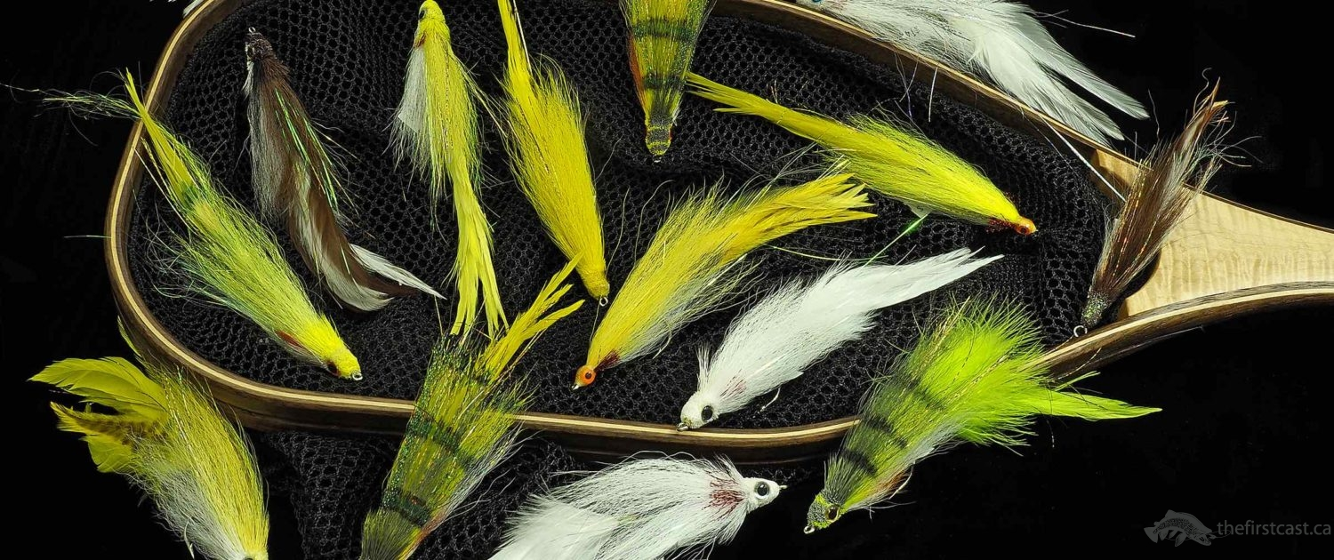 Custom TFC Pike & Musky Flies.