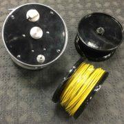 """Bill Ballan Steelhead Reel - 3 1/8"""" x 1"""" Wide Spool - c/w TWO extra Spools - LIKE NEW! - $200"""