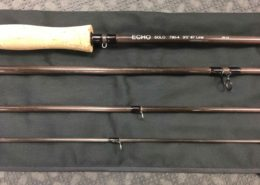 Echo Solo 790-4 - 9' 7wt Fly Rod - GREAT SHAPE! - $50