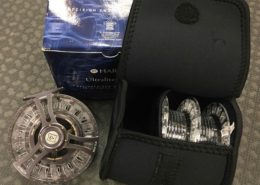 Hardy 9000 Ultralite CLS Cartridge Style Fly Reel c/w 2 Spare Spools - NEVER USED! - $275