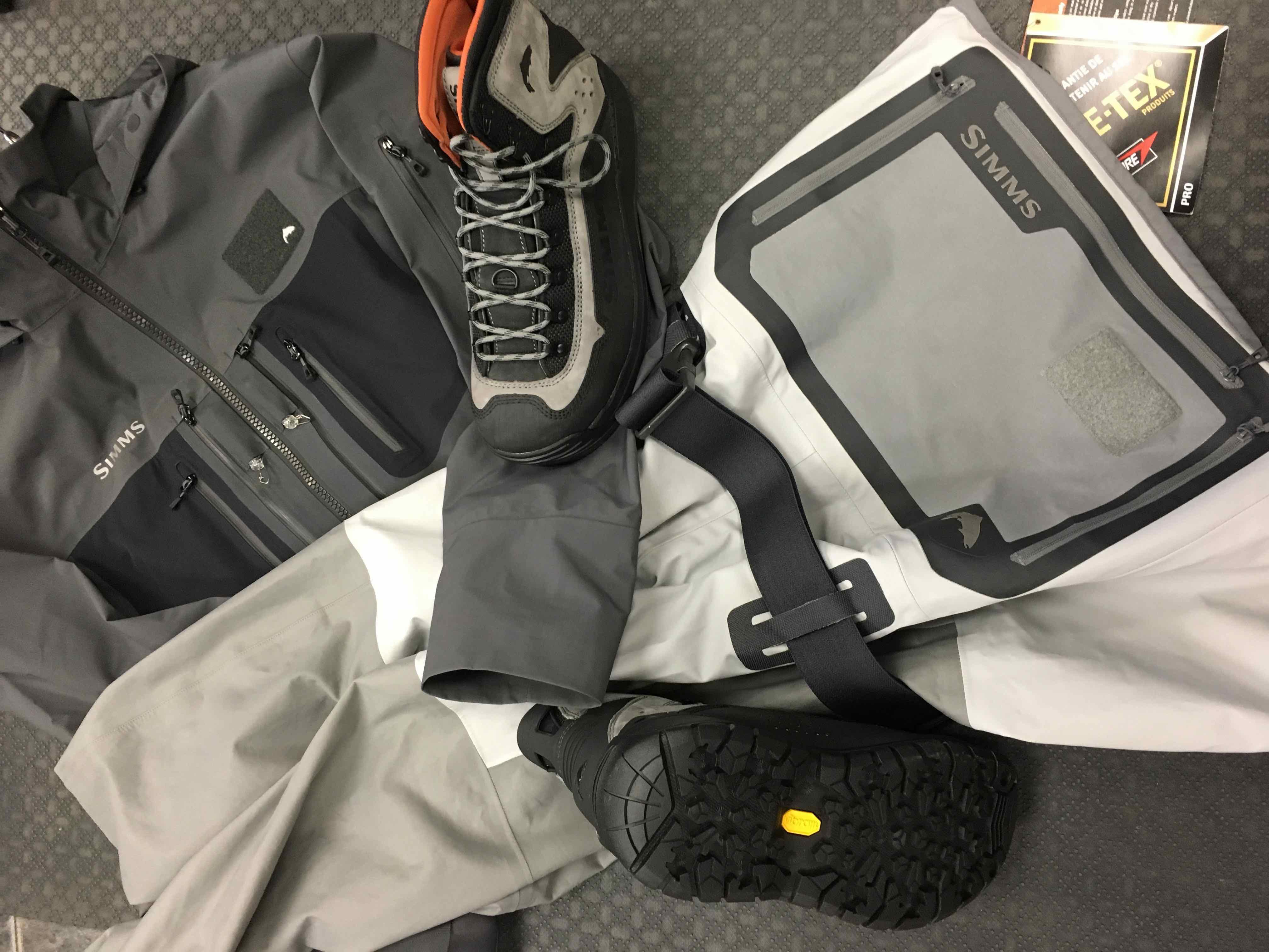 Simms 2018 G3 Series: Simms G3 Waders, Simms G3 Jacket& Simms G3 Wading Boots