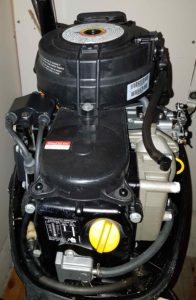 2006 Mercury 8HP 4 Stroke Motor GOOD CONDITION cw Tank and Hose - $1200AA