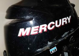2006 Mercury 8HP 4 Stroke Motor GOOD CONDITION cw Tank and Hose - $1200