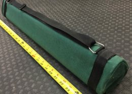 "25"" Triangle Multiple Rod Tube - GREAT SHAPE! - $20"