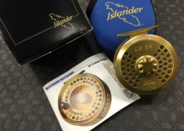 Islander LX3.4 Gold Fly Reel - Custom Trout Unlimited Edition c/w Scientific Anglers WF7 Fly Line - LIKE NEW! - $450