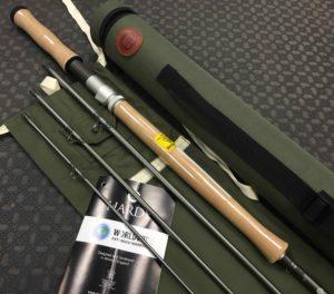 """Hardy Double Handed Rod - Swift Mark II - 11' 6"""" - 4pc 7wt - NEW IN PLASTIC! - $395"""
