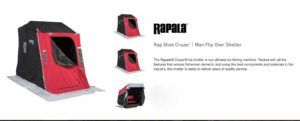 Rapala Cruzer Rap Shack RSS1 Ice Hut - BRAND NEW IN BOX - NEVER OPENED! - $400
