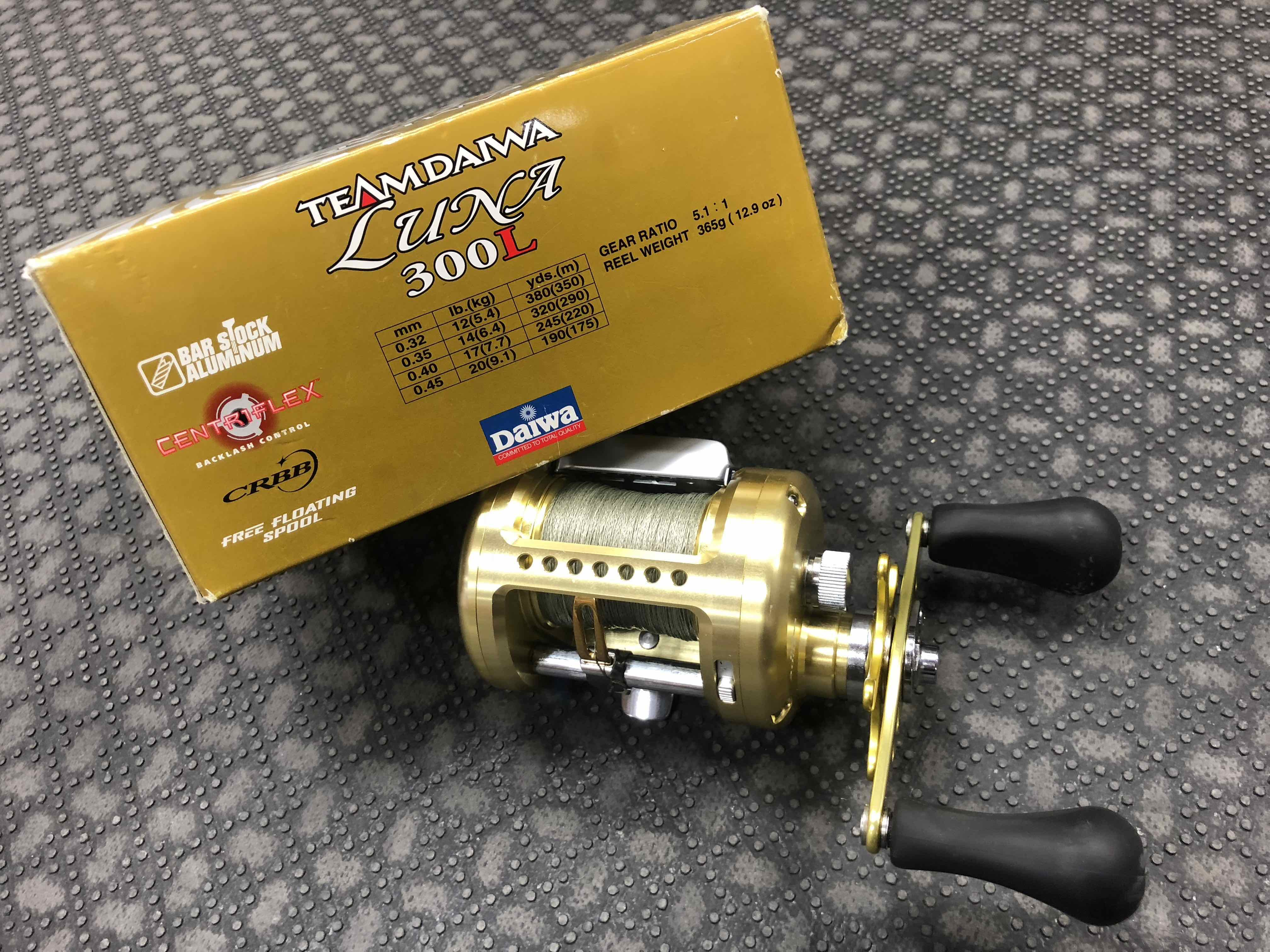 4b1255ccb94 Team Daiwa Luna 300L Baitcast Reel - GREAT SHAPE! - $150