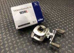 Daiwa Team Daiwa X 103HiL Baitcast Flipping & Pitching Reel - $50