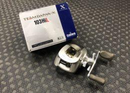 Daiwa Team Daiwa X 103HiL Baitcast Flipping & Pitching Reel - $50