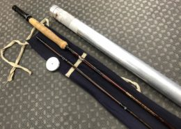 Fenwick HMG Graphite - GFF 1059 - 10 1/2' 9wt 2Pc Atlantic Salmon Fly Rod c/w Original Sock & Aluminum Tube - GREAT SHAPE! - $150