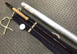 Fenwick HMG Graphite - GFF 1059 - 10 1/2' 9wt 2Pc Atlantic Salmon Fly Rod c/w Original Sock & Aluminum Tube - GREAT SHAPE! - $150