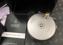 "Hardy - The Perfect 3 1/8"" - Made in England Fly Reel - Wide Spool - LIKE NEW!"