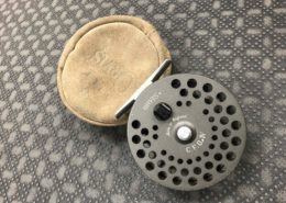 Orvis CFO IV - Made in England Fly Reel & Pouch - GREAT SHAPE!
