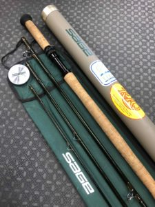 Sage Double Handed Spey Rod 9141-4 4Pc 9 Wt Graphite IV Fly Rod c/w Sock and Tube - LIKE NEW! - $575