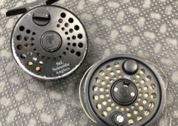 Scientific Anglers 5/6L Fly Reel & 2 Fly Lines - Well Used - $75