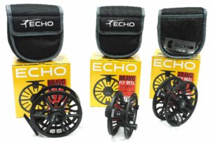 Echo Bravo Fly Reel Assortment.